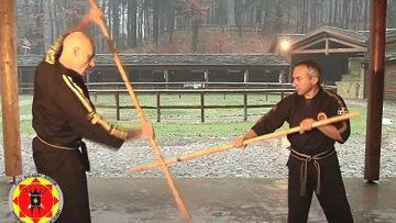 arti marziali long stick