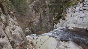 trekking la cascata del lupo