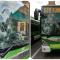 Africano devasta il vetro di un bus a sassate terrorizzando i passeggeri